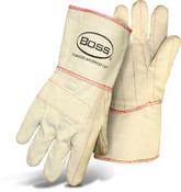 Heavy Quilted Hot Mill Safety Gloves by BOSS