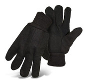 BOSS Jersey Knit Gloves w/ Dotted Palm, One Size (12 Pair)