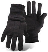Boss Brown Jersey General Purpose Gloves, Regular Weight, One Size (12 Pair)