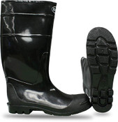 BOSS Steel Toe Over-the-Sock PVC Knee Boot, Size: 10 (1 Pr.)