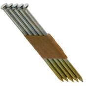 "2"" x .113"" 30-degree Paper Tape Offset Clipped Head Nails, Ring Shank, HDG (2,500 Pcs./Box)"