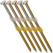 "2-1/2"" x .131"" 21-Degree Plastic Strip Round Head Nails - Electrogalvanized, Smooth Shank (5,000 Pcs./Box)"