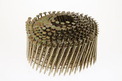 "1-1/4"" x .080"" 15-Degree Wire Weld Coil Nails - Electrogalvanized, Ring Shank (3,000 Pcs./Box)"
