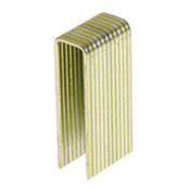 "1-3/8"" x 7/16"" - ""N""-style Medium Crown Staples - Electrogalvanized (10,000/Box)"