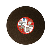 "12"" x 7/64"" x 1"" Low Horsepower Chop Saw Wheel Center Reinforced, Mercer Abrasives 603010 (10/Pkg.)"