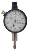 """Dial Indicator, Series 1 Compact 0-50 Face, Inch Reading, .125"""" Range"""