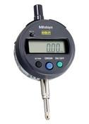 ".5/12.7 mm, .0001""/.001 mm ID-S Absolute Digimatic Indicator, Lug-Back, 3/8"" Stem, SPC Output"