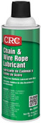 CRC Chain Lubricant in convenient aerosol can.