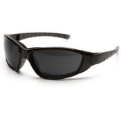 ERB Ammo Safety Glasses, Black Foam Lined, Gray Anti-Fog Lens 15411 (12 Pr.)