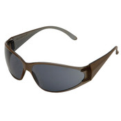 ERB Boas Original Safety Glasses, Brown Frame, Gray Lens 15405 (12 Pr.)