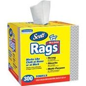 Scott® Rags In A Box, 300/Box