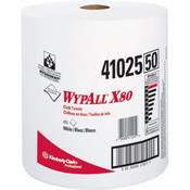 WypAll® X80 Towels, Jumbo Roll, White, 475/Roll