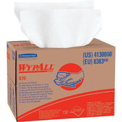WypAll® X70 Wipers, Pop-Up Box, White, 10 Boxes/100 ea