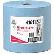 WypAll® X70 Wipers, Jumbo Roll, Blue, 870/Roll
