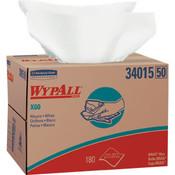 WypAll® X60 Wipers, Brag Box, White, 180/Box