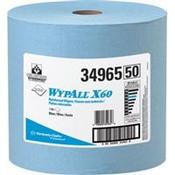 WypAll® X60 Wipers, Jumbo Roll, Blue, 1100/Roll