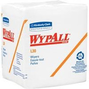 """WypAll® L30 Wipers, 1/4-Fold, 12 1/2"""" x 12"""", 12 Packs/90 ea"""