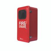 """Fiberglass Extinguisher Cabinet, 27 1/8""""H x 15 3/4""""W x 10 1/2""""D"""
