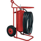 Badger™ 125 lb ABC Wheeled Stored Pressure Fire Extinguisher, 50' Hose