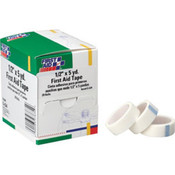 "First Aid Tape, 1/2"" x 5 yds, 20 Rolls/Box"