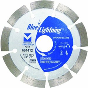 "Segmented Diamond Blades - 4.5"" x .080 x 7/8"", 5/8"", Mercer Abrasives 661412 (1/Pkg.)"
