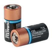 Duracell® Ultra CR123A Lithium Batteries (10/Pkg)