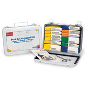 16 Unit, 100-Piece Pool and Lifeguard Kit, Metal Case