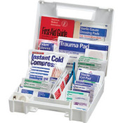 131-Piece All-Purpose First Aid Kit (Plastic Case)