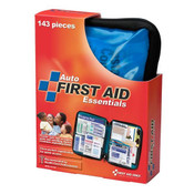 143-Piece Auto First Aid Kit (Softpack Case)