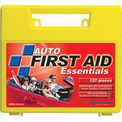 138-Piece Auto First Aid Kit (Plastic Case)