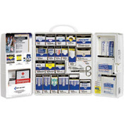 206-Piece Standard Business First Aid Kit w/ Medications (Plastic)