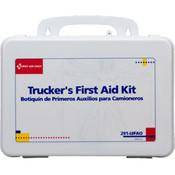 16-Unit, 88-Piece Trucker's First Aid Kit (Plastic)