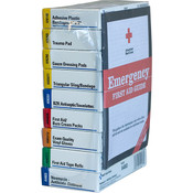 10-Unit Unitized First Aid Kit Refill Brick (For 238ANAC, 240ANAC)