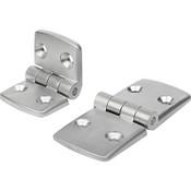 Kipp Aluminum Hinge, K0580.402323 (1/Pkg.)