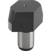 Kipp Flattened Straight Bolts, Style C, Short Version, 6mm Dia., 13mm Length, K0293.406 (1/Pkg.)