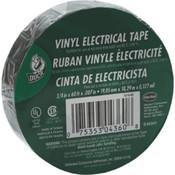 "Duck Brand Electrical Tape, 7 mil Vinyl, 3/4"" x 60', Black"