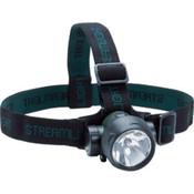Trident LED Haz-Lo Headlight, 3 LED, Class 1 Division 1, Yellow w/ White LEDs