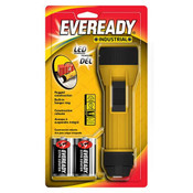 Eveready Industrial 2D LED Flashlight (1/Pkg.)