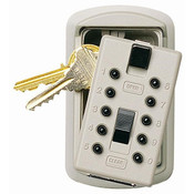 KeySafe™ Original Push-Button Key Box (Slimline), Assorted, Clamshell