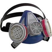 Advantage 200 LS Half-Mask Respirator, 2-Pc Neckstrap, Large