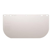 F20 Polycarbonate Flat Face Shield