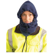 3-in-1 Fleece Balaclava, Hi-Vis Orange