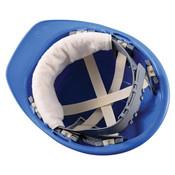 Snap-On Hard Hat Sweatband, Navy, 100/Pkg