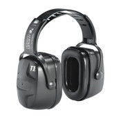 Howard Leight Thunder Earmuffs, T3 Headband, NRR 30, Black