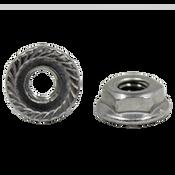 "1/2""-13 Hex Flange Nuts Serrated 18-8 Stainless Steel (700/Bulk Pkg.)"