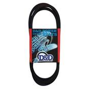 D162 Wrapped V-Belt, D 1-1/4 x 167in OC (1/Pkg.)