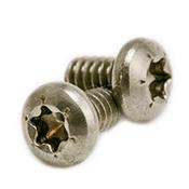 "#10-24 x 1 1/2"" 6-Lobe Pan Head Machine Screws, 18-8 Stainless Steel (2000/Pkg.)"