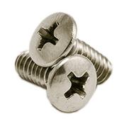 "#10-24 x 1"" Phillips Oval Head Machine Screws, 316 Stainless Steel (500/Pkg.)"