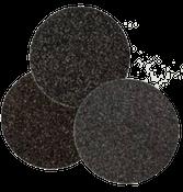 "Floor Sanding Edger Discs - Silicon Carbide Hook & Loop - 6"" x No Hole, Grit/ Weight: 100F, Mercer Abrasives 457100 (50/Pkg.)"
