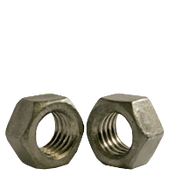 """1 1/2""""-6 Finished Hex Nuts, Grade 2, Coarse, Low Carbon Steel, Hot Dip Galvanized (10/Pkg.)"""